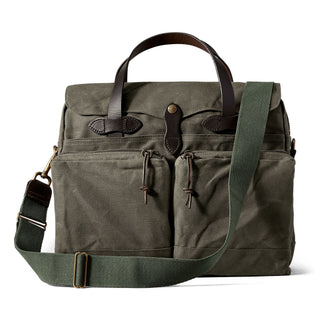 FILSON 24-Hour Tin Cloth Briefcase Briefcase FILSON Otter Green