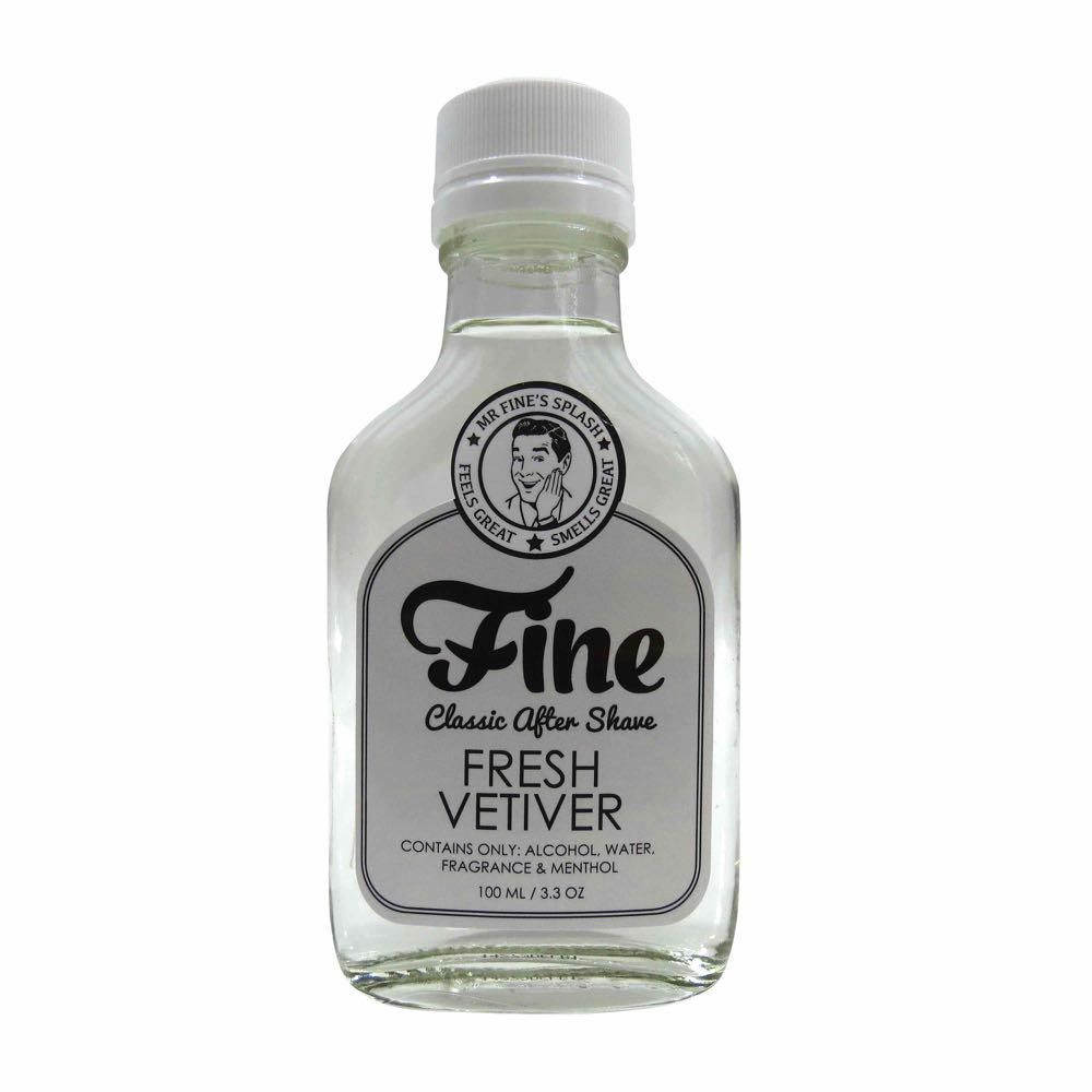 Fine Classic After Shave Aftershave Fine Accoutrements Fresh Vetiver