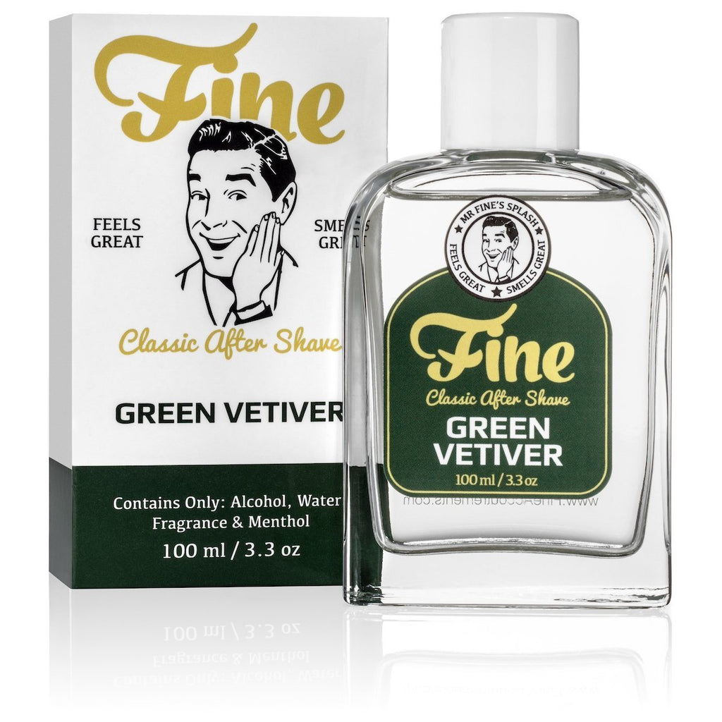 Fine Classic After Shave Aftershave Fine Accoutrements Green Vetiver