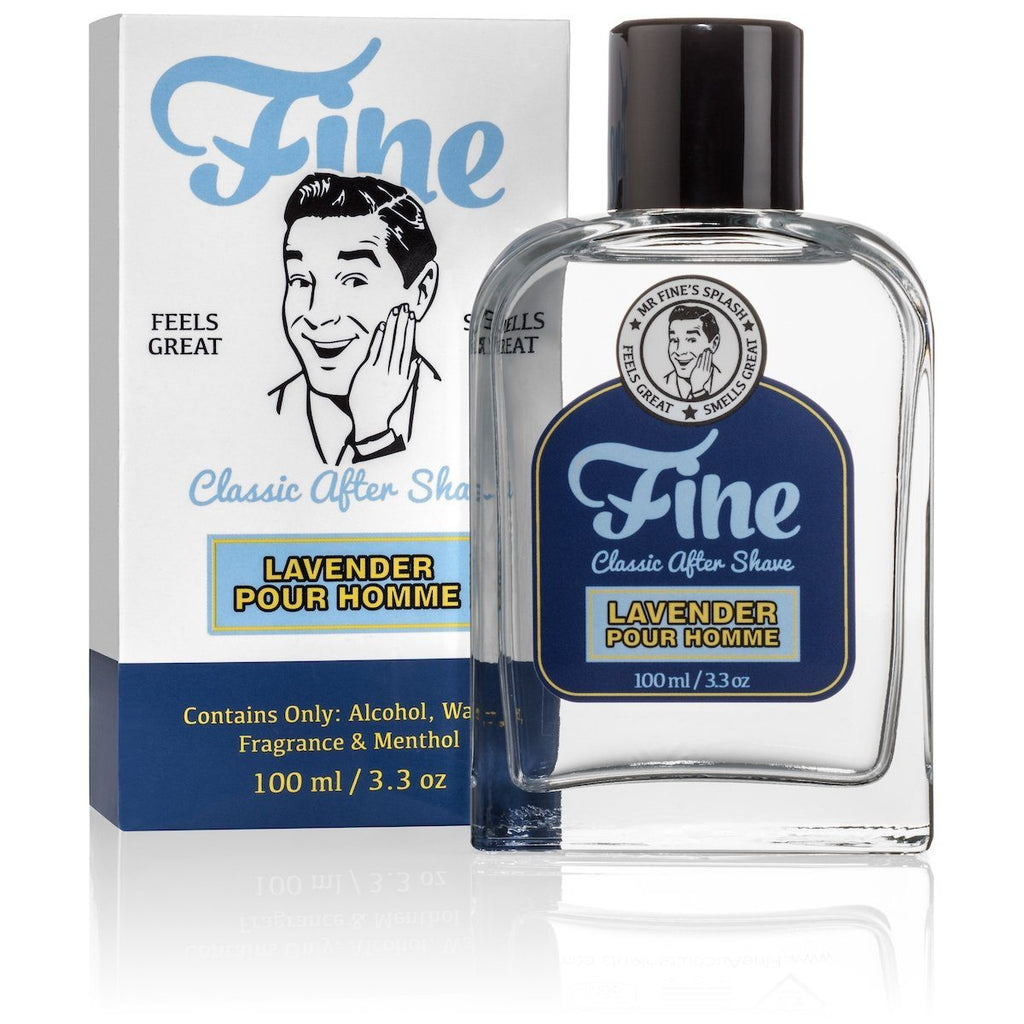 Fine Classic After Shave Aftershave Fine Accoutrements Lavender Pour Homme