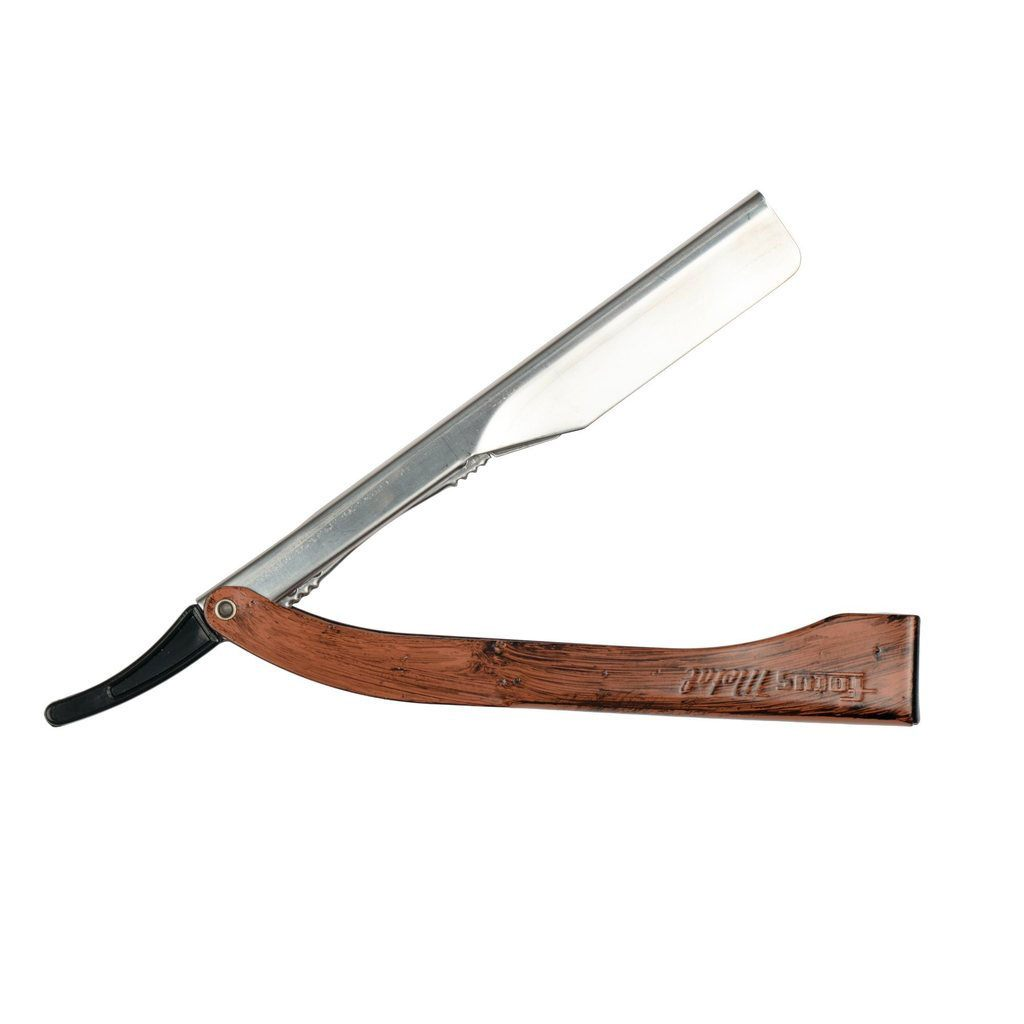 Focus R21 Stainless Steel Shavette Straight Razor, Made in Italy Shavette Focus