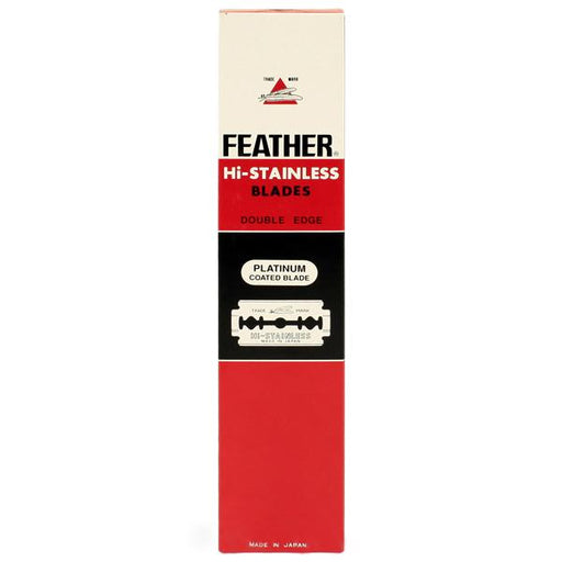 100 Black Feather Double-Edge Safety Razor Blades - Fendrihan Canada
