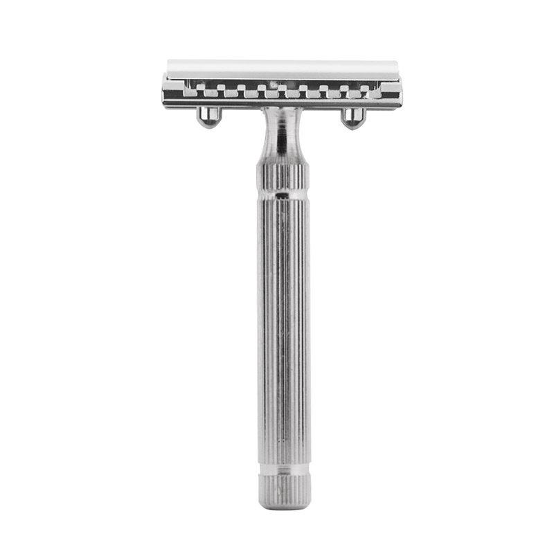 Fatip Piccolo Safety Razor Double Edge Safety Razor Fatip Chrome Closed