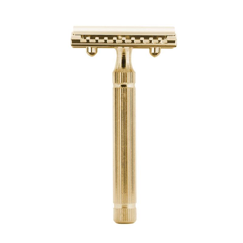 Fatip Piccolo Safety Razor Double Edge Safety Razor Fatip Gold Closed