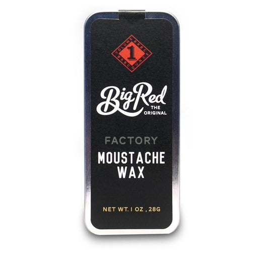 Big Red Moustache Wax 1 oz - Factory - Fendrihan Canada