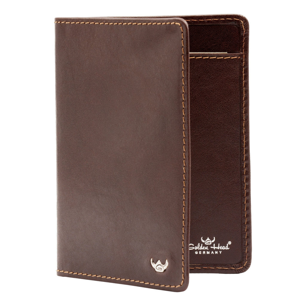 Golden Head Colorado Eco-Tanned 3 CC Leather ID Wallet Leather Wallet Golden Head