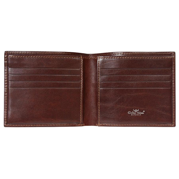 Golden Head Colorado Eco-Tanned Italian Leather Billfold with 8 Credit Card Slots - Fendrihan Canada - 4