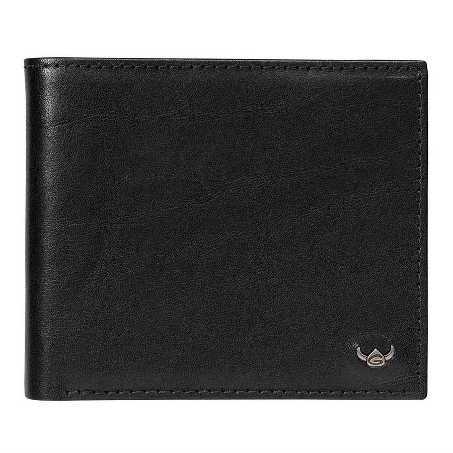Golden Head Colorado Eco-Tanned Italian Leather Billfold with 8 Credit Card Slots Leather Wallet Golden Head Black