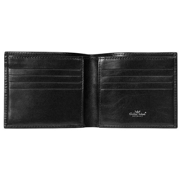 Golden Head Colorado Eco-Tanned Italian Leather Billfold with 8 Credit Card Slots - Fendrihan Canada - 2