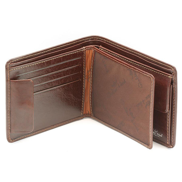 Golden Head Colorado Billfold Leather Wallet with Coin Purse and 8 CC Slots - Fendrihan Canada - 2
