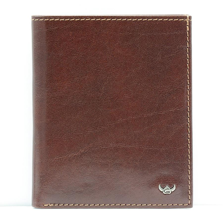 Golden Head Colorado Leather Billfold with 10 Credit Card Slots, Tobacco - Fendrihan Canada - 5