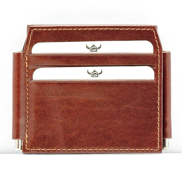 Golden Head Colorado 4 CC Double Money Clip Billfold Leather Wallet - Fendrihan Canada - 2
