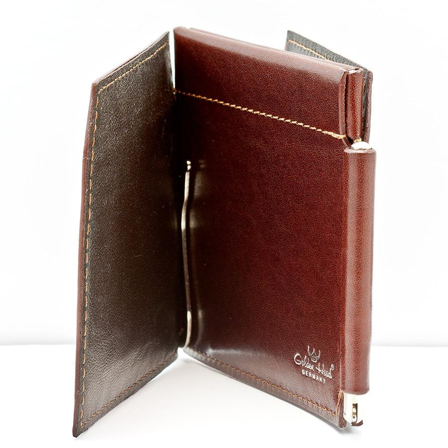 Golden Head Colorado 4 CC Double Money Clip Billfold Leather Wallet Leather Wallet Golden Head