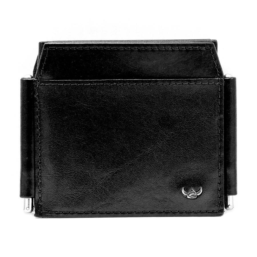 Golden Head Colorado 4 CC Double Money Clip Billfold Leather Wallet Leather Wallet Golden Head Black
