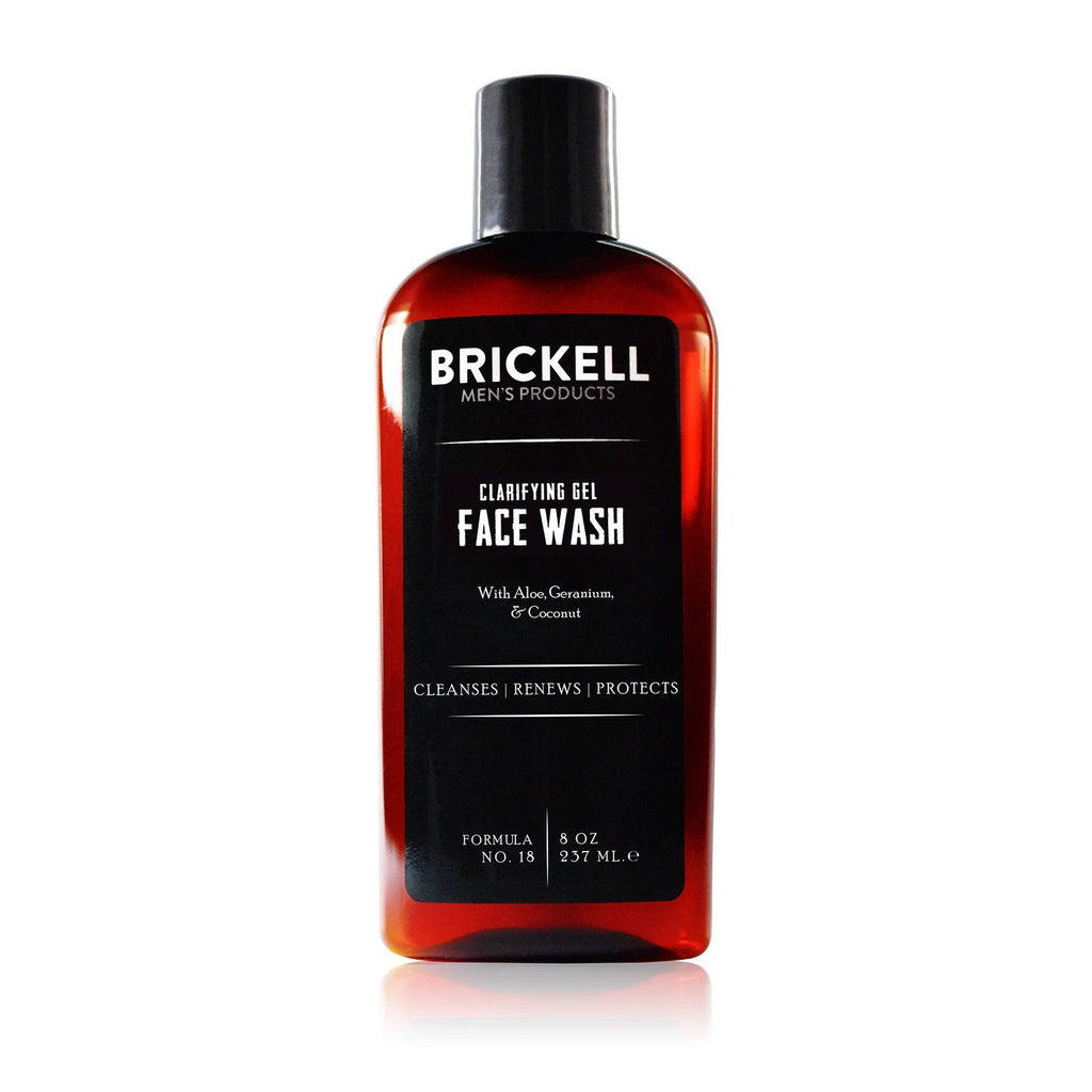 Brickell Clarifying Gel Face Wash Facial Care Brickell