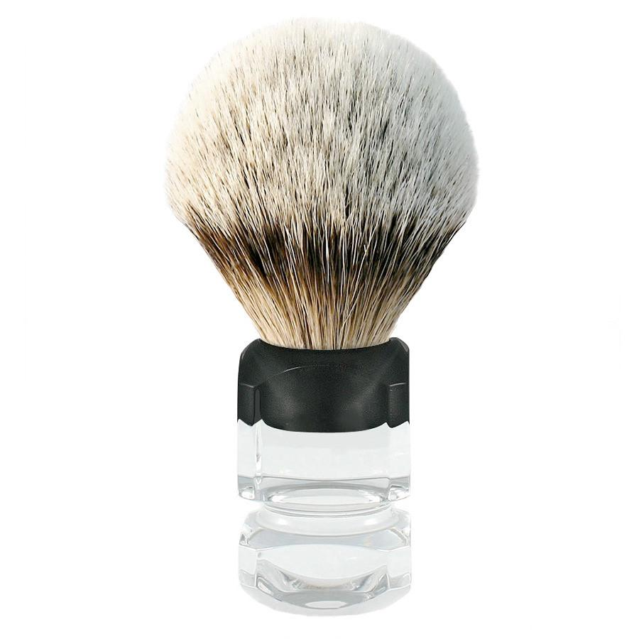 H.L. Thater 4376 Series Silvertip Shaving Brush with Two-Tone Handle, Size 4 - Fendrihan Canada