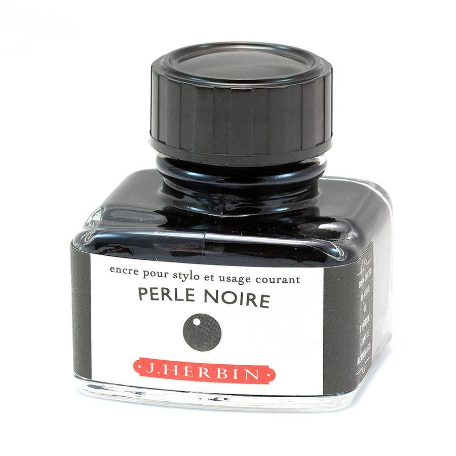 J. Herbin Fountain Pen Ink Bottles Ink Refill J. Herbin Black Pearl