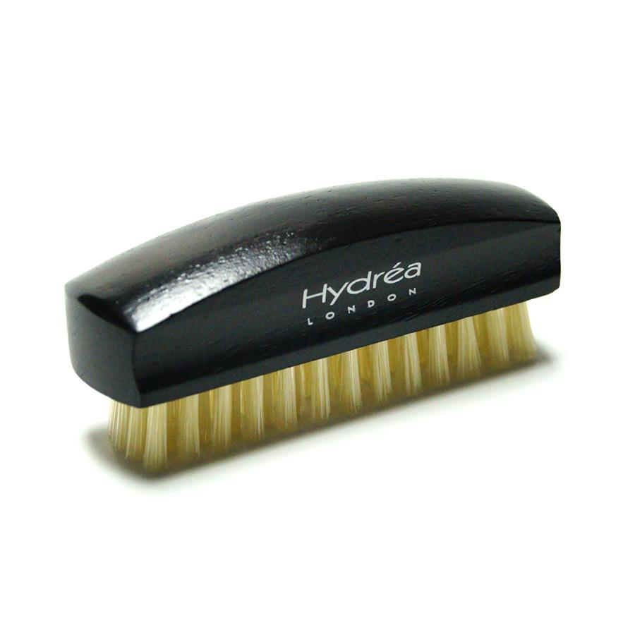 Hydrea London Rosewood Nail Brush with Natural Bristle Nail Brush The Natural Sea Sponge Co