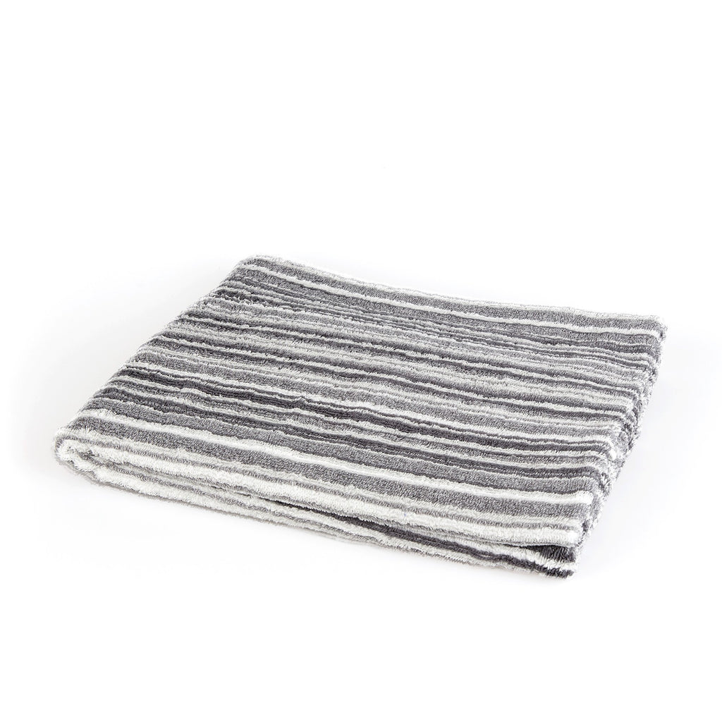 Ikeuchi Straits Organic 240 Cotton & Bamboo Towel Towel Ikeuchi Bath Towel (72 x 145 cm) Light Grey