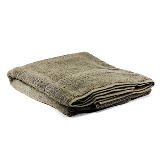 Ikeuchi Organic 330 Cotton Shower Towel, Dark Grey Towel Ikeuchi