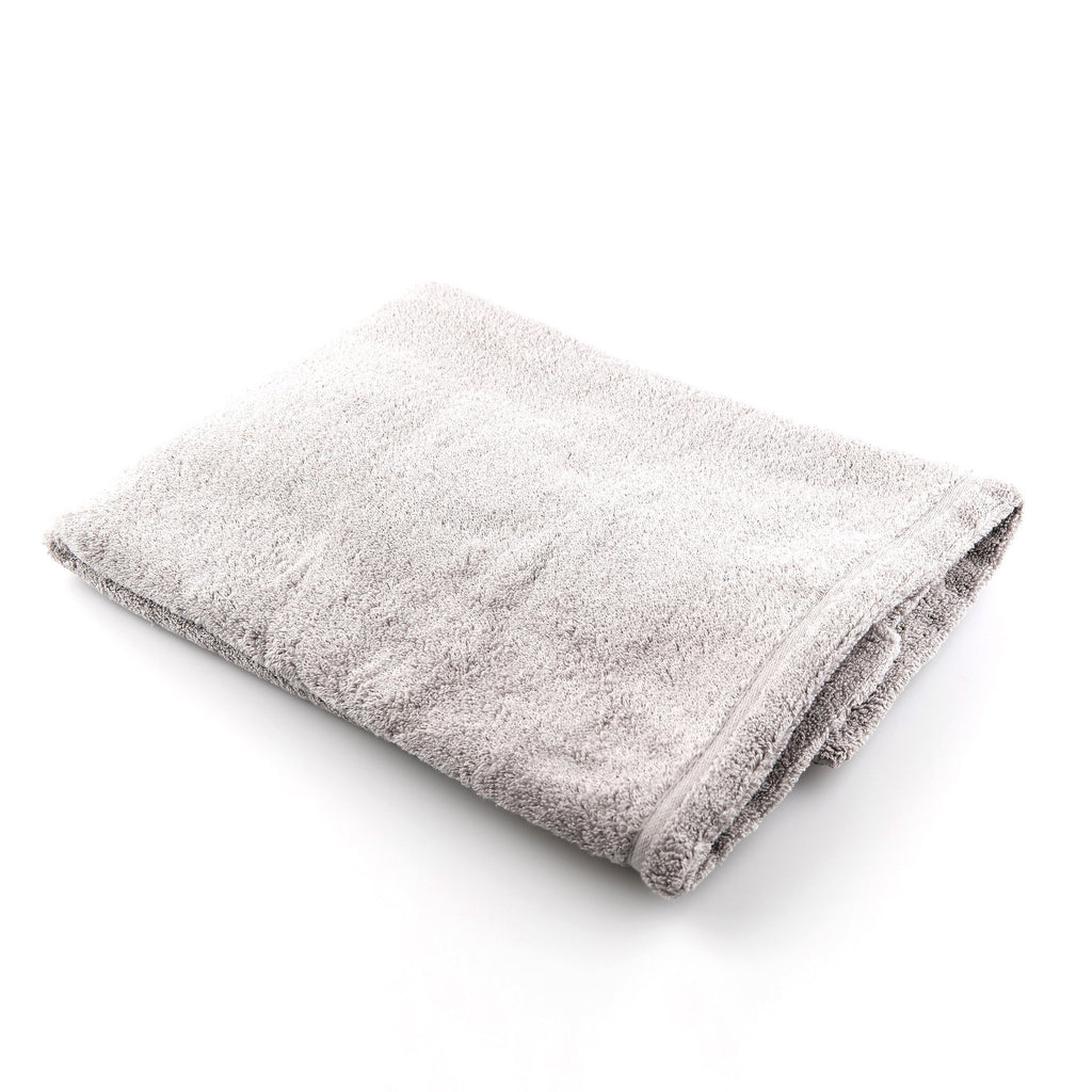Ikeuchi Organic 520 Cotton Towel Towel Ikeuchi Bath Towel (72 x 145 cm) Grey