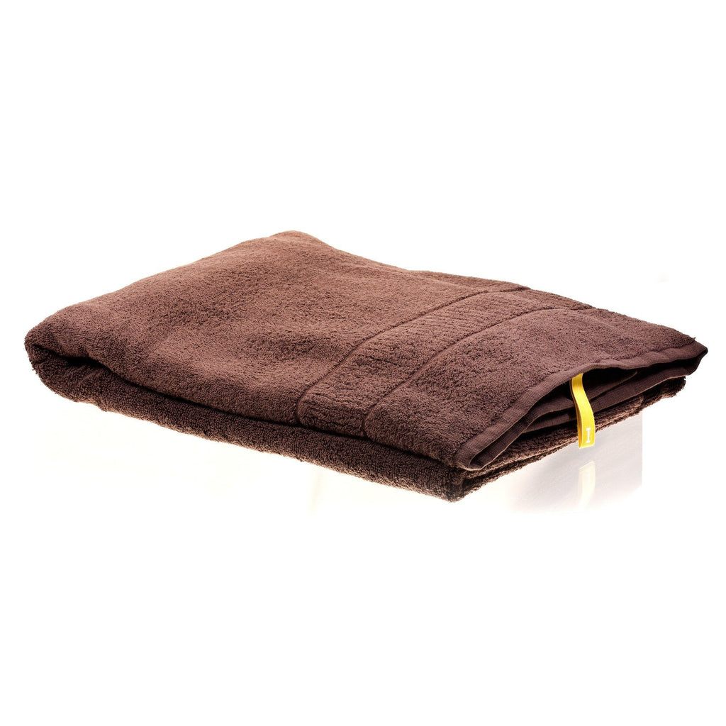 Ikeuchi Organic 316 Cotton Towel, Dark Brown Towel Ikeuchi Bath Towel (72 x 145 cm)