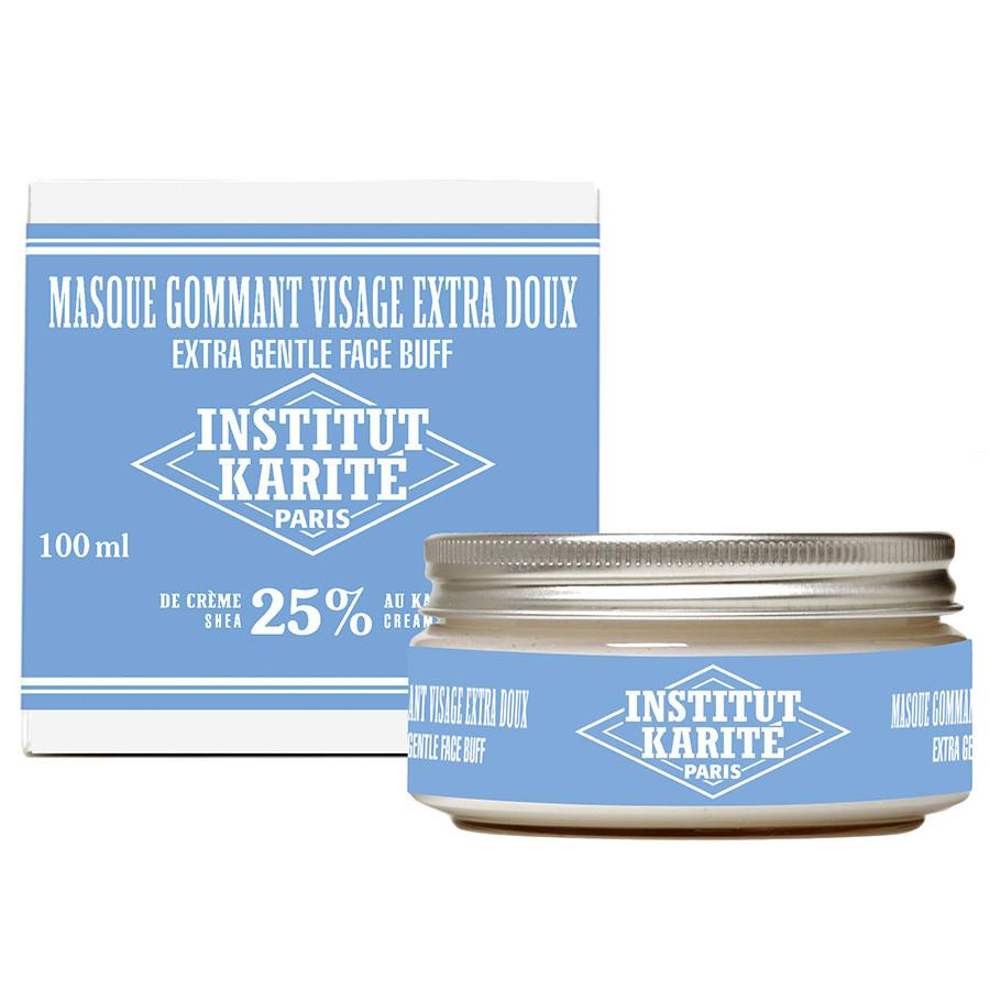 Institut Karite 25% Shea Butter Cream Extra Gentle Exfoliating Face Mask Facial Care Discontinued