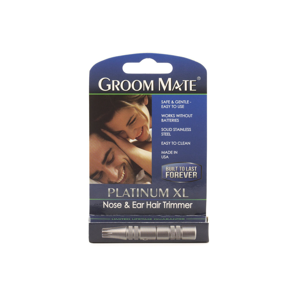 Groom Mate Platinum XL Nose Hair Trimmer Nose Hair Trimmer Groom Mate