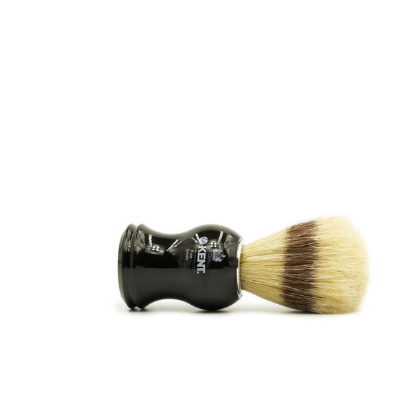 Kent Visage VS60 Pure Bristles with Badger Effect Shaving Brush, Black Handle - Fendrihan Canada - 2
