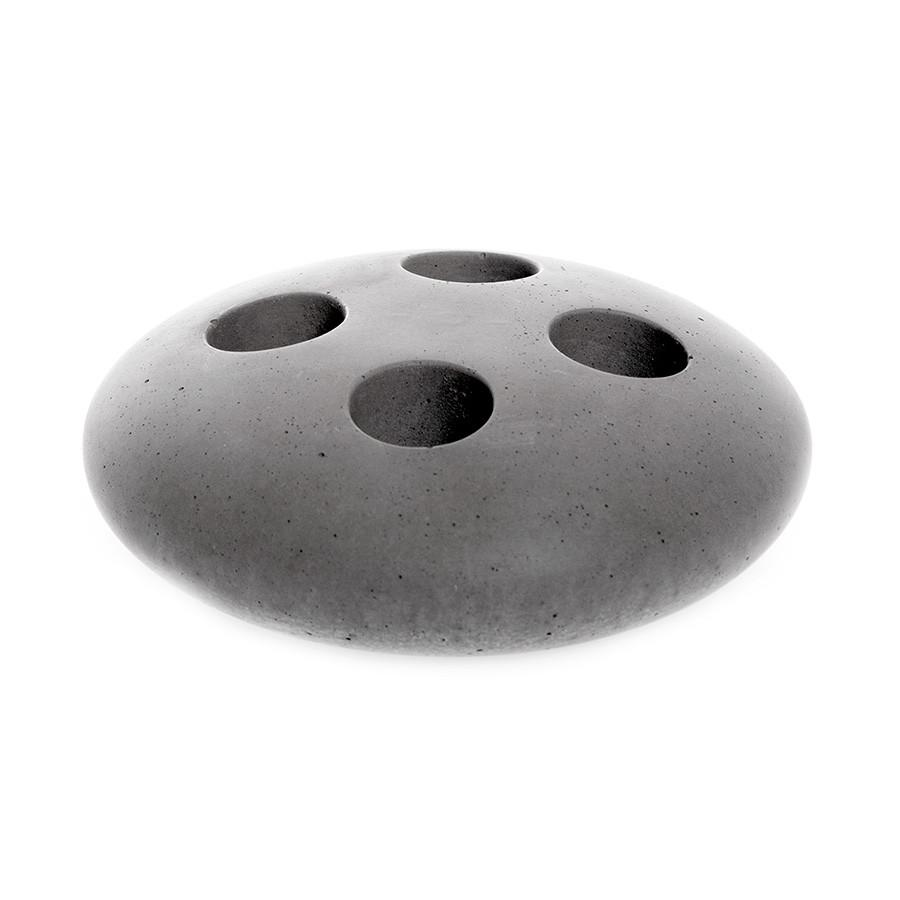 Iris Hantverk Concrete Toothbrush Holder Bath Accessory Iris Hantverk Light Grey