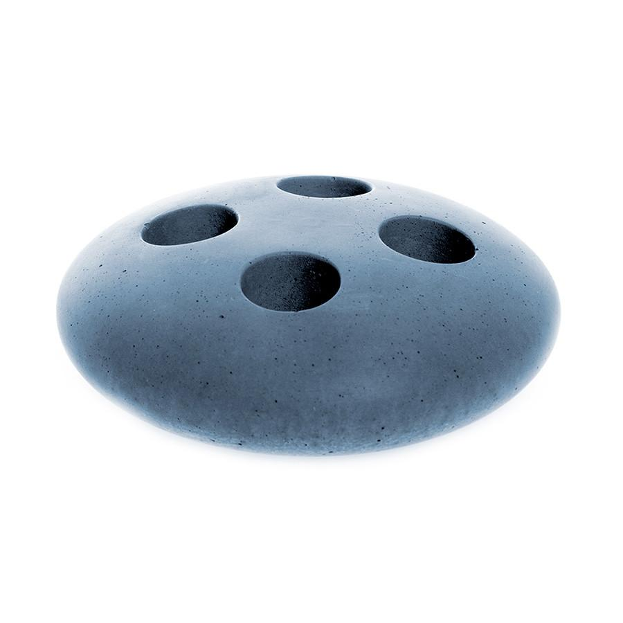 Iris Hantverk Concrete Toothbrush Holder Bath Accessory Iris Hantverk Blue