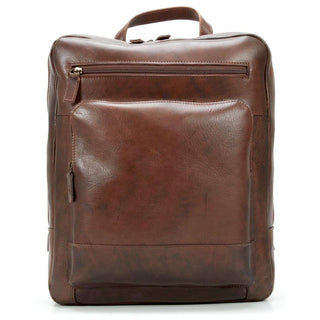 "Jost Ranger Leather Backpack with 14"" Laptop Compartment, Cognac Leather Briefcase Jost"