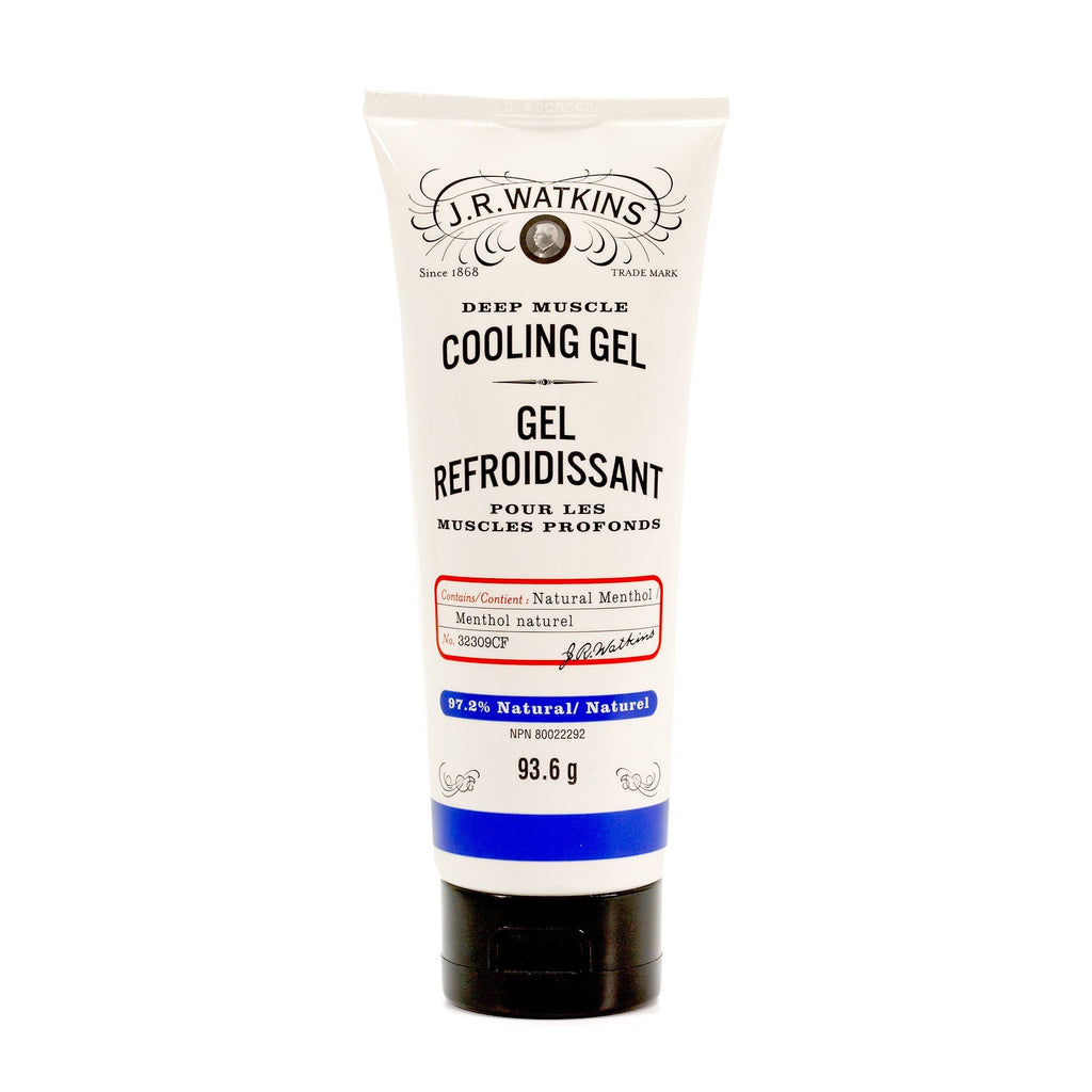 J. R. Watkins Deep Muscle Cooling Gel Apothecary Remedies J. R. Watkins