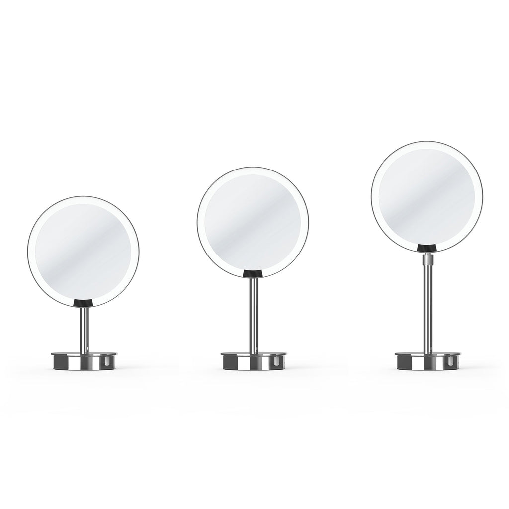 Decor Walther Just Look Sensor Cosmetic Mirror, 5x Magnification Shaving Mirror Decor Walther