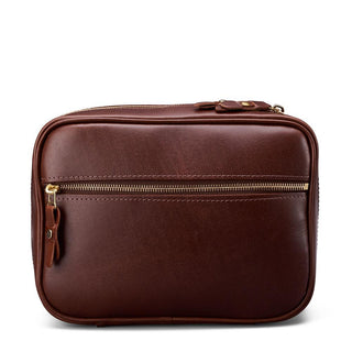 J. W. Hulme Co. Travel Case, American Heritage Leather Grooming Travel Case J. W. Hulme Co