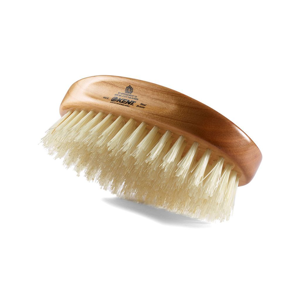 Kent MC4, Hand-finished Hairbrush, Travel Hair Brush Kent