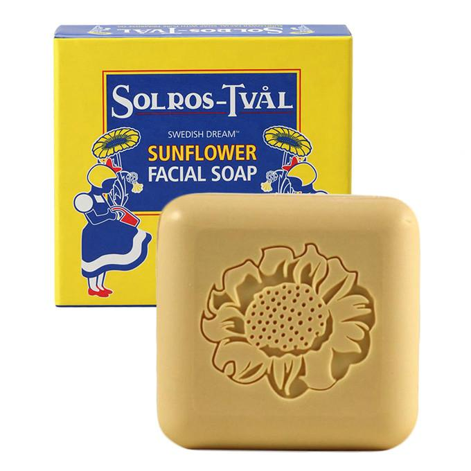 Swedish Dream Sunflower Facial Soap Facial Care Swedish Dream