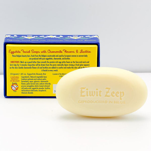 Belgian Eggwhite and Chamomile Soap Bar - Fendrihan Canada - 2