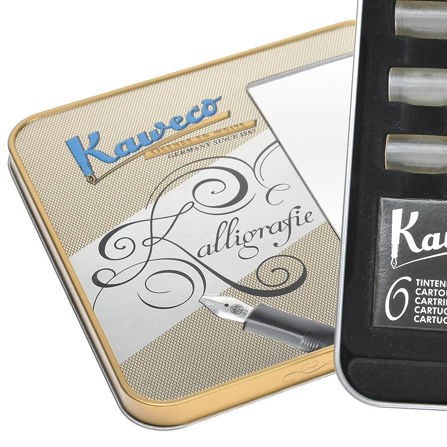 Kaweco Calligraphy Set, Black Fountain Pen Discontinued