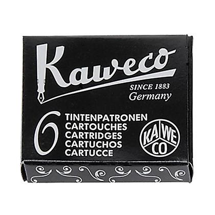 Kaweco Fountain Pen Ink Cartridge 6-pack, Black - Fendrihan Canada