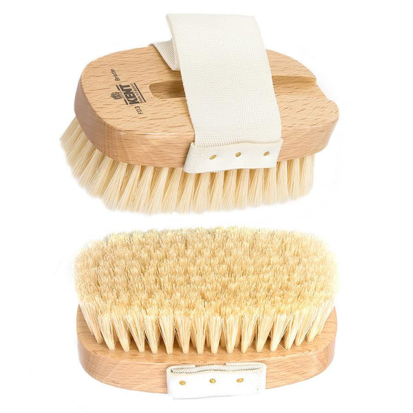 Kent FD3 Convertible Bath and Body Brush, Beech Wood & Natural Bristle - Fendrihan Canada - 5