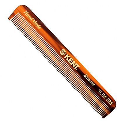 Kent Slim Jim Hand-finished Pocket Comb - Fendrihan Canada