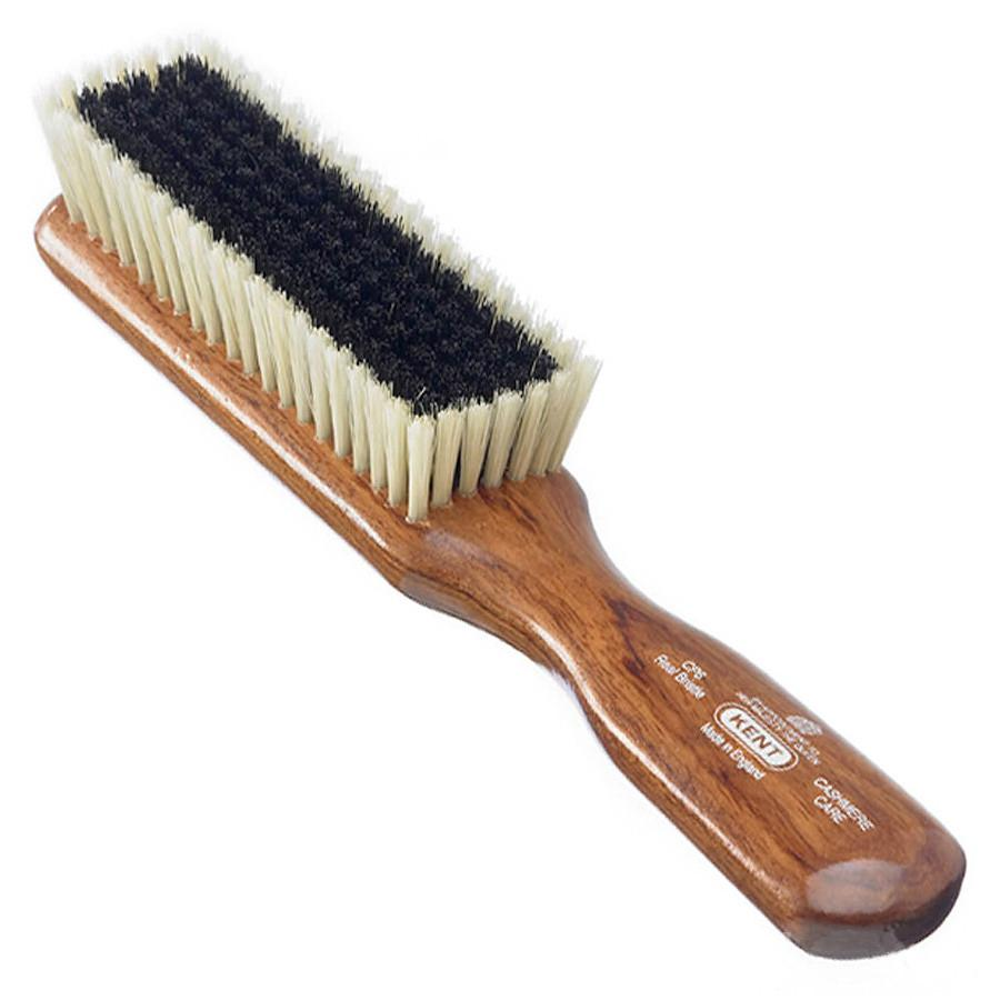 Kent CP6 Mahogany Pure Bristle Cashmere Clothes Brush Hair Brush Kent