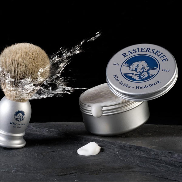 Klar's Shaving Soap in Tin, Sandalwood - Fendrihan Canada - 3