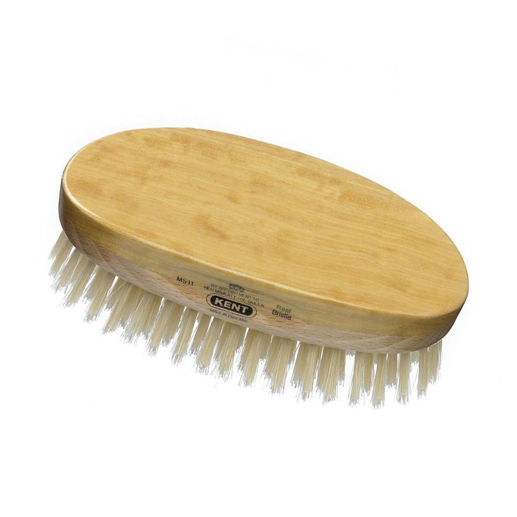 Kent MS11, Hand-finished Hairbrush Hair Brush Kent