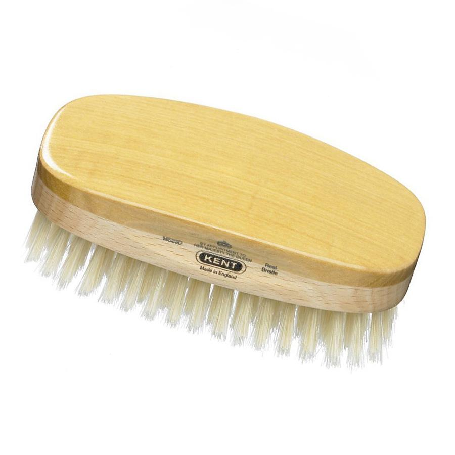 Kent MS23D, Hand-finished Hairbrush Hair Brush Kent