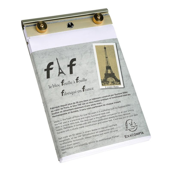 Exacompta FAF Desk Note Pad #4, Large - Fendrihan Canada - 2