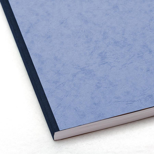 Clairefontaine Basics 8 x 11 Clothbound Notebook in Blue, Lined - Fendrihan Canada - 2