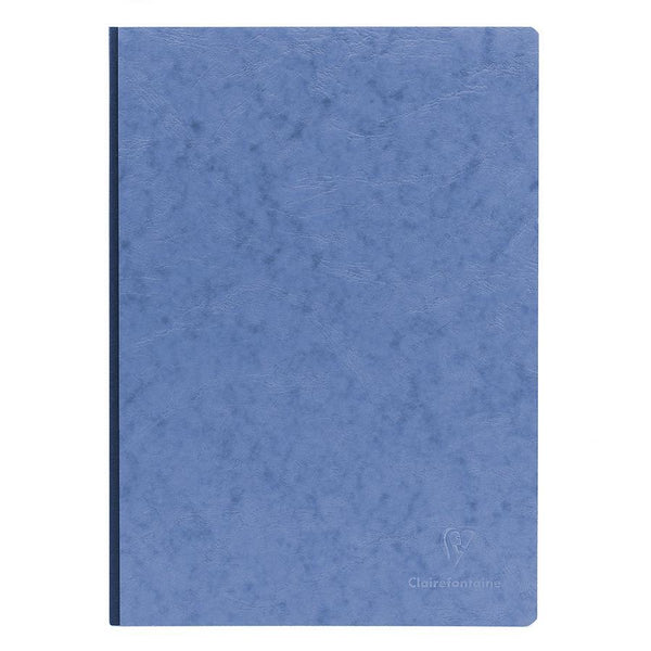 Clairefontaine Basics 8 x 11 Clothbound Notebook in Blue, Lined - Fendrihan Canada - 1