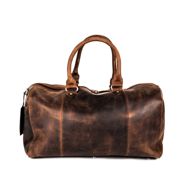 Leonhard Heyden Salisbury Travel Bag, Brown Leather - Fendrihan Canada - 4